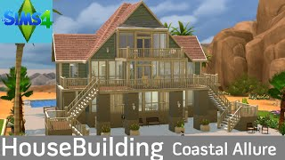 getlinkyoutube.com-The Sims 4: House Building - Coastal Allure