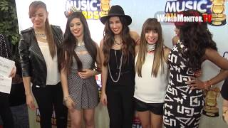 getlinkyoutube.com-'Fifth Harmony' from The X Factor rock Radio Disney Music Awards 2013 Red Carpet