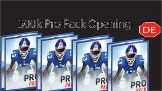 getlinkyoutube.com-Madden Mobile 16 300k in Pro Packs; Trophy Pack; Veteran Upgrade Pack; and Large Quicksell!