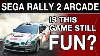 getlinkyoutube.com-SEGA RALLY 2 ARCADE - Is this Game still Fun? (4K)