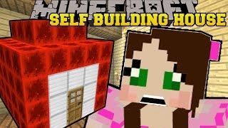 getlinkyoutube.com-Minecraft: SELF BUILDING REDSTONE HOUSE!! - CURSE OF THE PUMPKIN PRINCE - Custom Map [2]