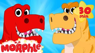 getlinkyoutube.com-Dinosaur Morphle Goes Back In Time - Morphle Animations For Kids