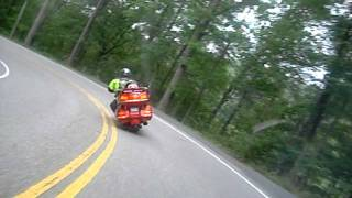 """getlinkyoutube.com-Deals Gap """"Tail of the Dragon"""" on a Gold Wing"""