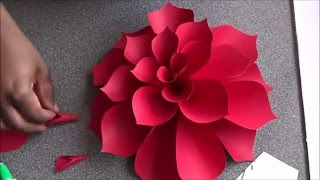 getlinkyoutube.com-Ariana Giant Paper Flower