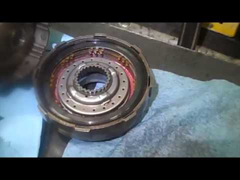 1995 Suzuki Sidekick Transmission Overhaul AW 03-72LE (A44DE) Part 20 of 23