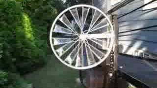 getlinkyoutube.com-Bicycle Wheel Windmill