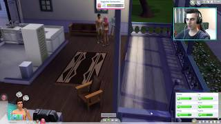 getlinkyoutube.com-Sims 4 - WooHoo make a baby !!