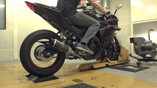 getlinkyoutube.com-Two Brothers Racing - 2015 Yamaha R3 Full Exhaust System