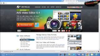 getlinkyoutube.com-شرح تحميل وتفعيل برنامج المونتاج AVS Video Editor 6 4 لويندوز 8 و7 واكس بي  2014