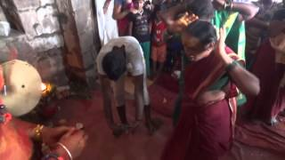 getlinkyoutube.com-vijay pothraj dance @ golkonda bonalu
