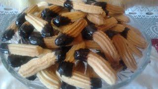 getlinkyoutube.com-حلوة البوق بالشكلاط الهشيشة و الرائعة في المداق من مطبخ ملح وسكر