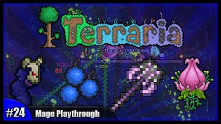 getlinkyoutube.com-Let's Play Terraria 1.2.4    Mage Class Playthrough    Bombing The Jungle & Plantera! [Episode 24]