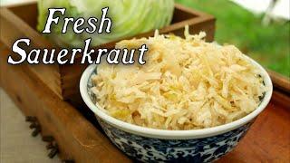 getlinkyoutube.com-Making Fresh Sauerkraut