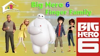 getlinkyoutube.com-Big Hero 6 Finger Family Nursery Rhymes - Super Simple Finger Family - baymax