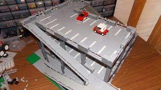 getlinkyoutube.com-Building a LEGO Parking Garage