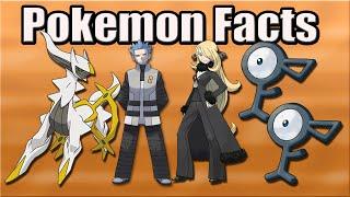 getlinkyoutube.com-Pokémon Facts: Linking Unown to Arceus