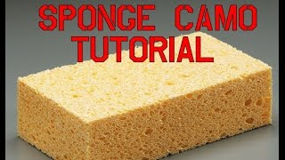 getlinkyoutube.com-Sponge Camo Painting Tutorial How To