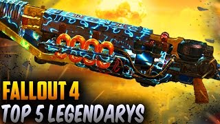 getlinkyoutube.com-Fallout 4 Best Weapons - TOP 5 Overpowered Best Rare Legendary Weapons!