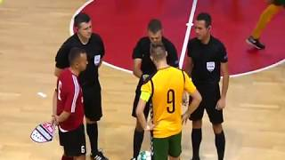 FUTSAL CHAMPION LEAGUE ARÉNA LUČENEC 2018 -  MIMEL LUČENEC (SK) vs. FK VYTIS (LTU)