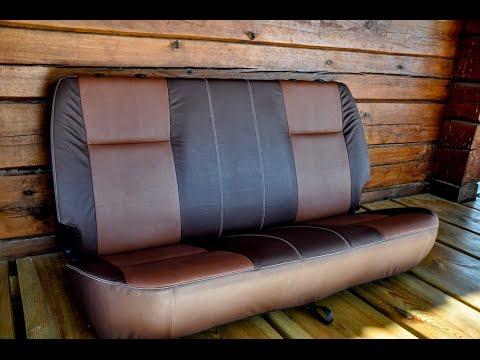 Seat alteration with eco leather салона эко кожей