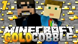 getlinkyoutube.com-Minecraft: GOLD COBBLESTONE MODPACK   Spiders are Gross!! [7]