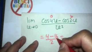 cara cepat Limit trigonometri-kumpulan soal