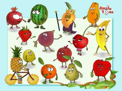 Fruits Rhymes Jingel Toons