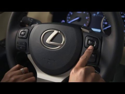 Multi-Information Display on the 2015 Lexus NX