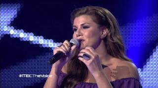 getlinkyoutube.com-MBC The Voice - رنين الشعار - Berivan - مرحلة الصوت وبس