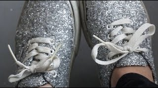 DIY: Glitter Shoes REVAMP YOUR OLD SHOES!