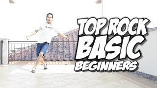 getlinkyoutube.com-Bboy Tutorial I Basic Top Rock for Beginners I
