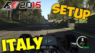 getlinkyoutube.com-F1 2015 Italy/Monza Setup + Hotlap 1:19.820 -Ex World Record- [PC][Gamepad][[HD+]