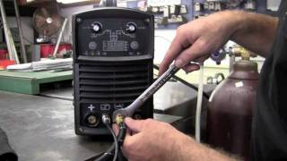 getlinkyoutube.com-LONGEVITY MicroTIG 200 Digital 200amp AC DC PULSE TIG WELDER