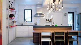 Interior Design — Before & After: Small Kitchen & Bathroom Makeover