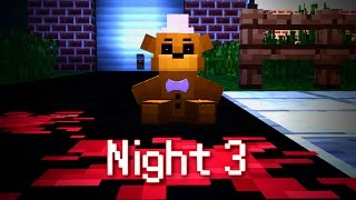 getlinkyoutube.com-MINE Nights at Freddy's FUN PARK   Night 3   FNAF Minecraft Roleplay