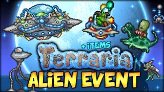 getlinkyoutube.com-BADASS UFO MOUNT, ALIEN INVASION EVENT AND ALL THE NEW ITEMS (TERRARIA 1.3 - MARTIAN MADNESS)