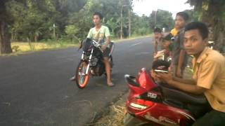 drag bike adi montela