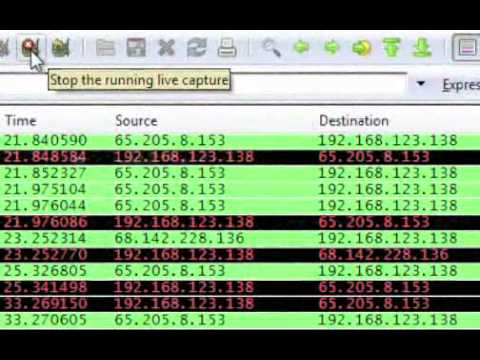 How to capture packets with the Wireshark packet sniffer