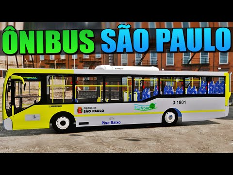 Dirigindo Ônibus Urbano - GTA IV
