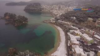 Snowy Parga drone flight