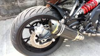 getlinkyoutube.com-Benelli bn600 Custom Nackde sport By tonys bike