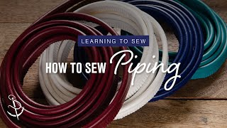 getlinkyoutube.com-Learning to Sew Part 6: How to Add Piping
