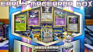 getlinkyoutube.com-EARLY MAGEARNA MYTHICAL COLLECTION BOX OPENING | Pokemon Cards