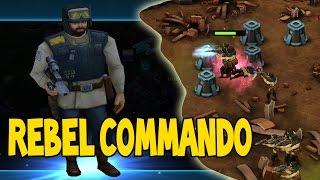 getlinkyoutube.com-REBEL COMMANDO DESTRUCTION | Star Wars Commander Rebels # 53