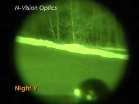 N-Vision Optics Night Vision vs Thermal Imaging