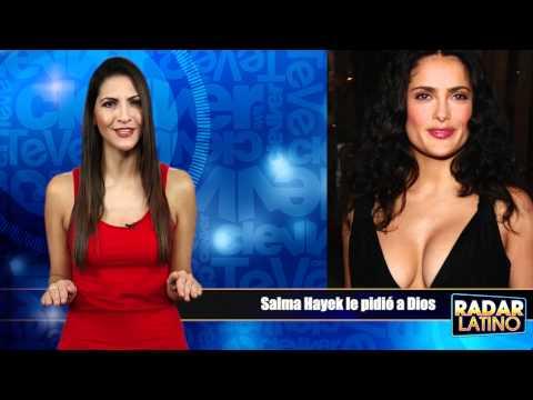 Salma Hayek le pidio a Dios senos grandes