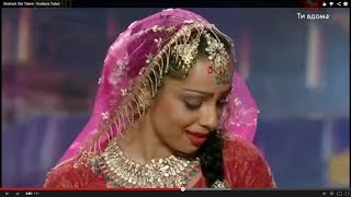 getlinkyoutube.com-Ukraine's Got Talent - Bollywood Mujra (Kathak dance) by Svetlana Tulasi
