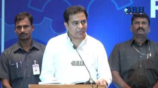 ktr Speech Government of telangana Industries & Commerce  Department annual Report 2015-16