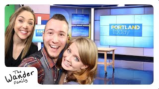 FIRST LIVE TV INTERVIEW!! NBC PORTLAND TODAY!