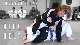 getlinkyoutube.com-Brazilian Jiu Jitsu | Josarah Blue Belt | ROYDEAN.TV